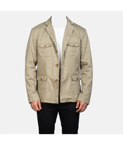 Kajetan Beige Safari Jacket