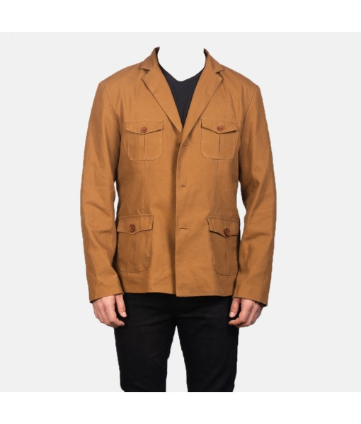 Kajetan Khaki Safari Jacket