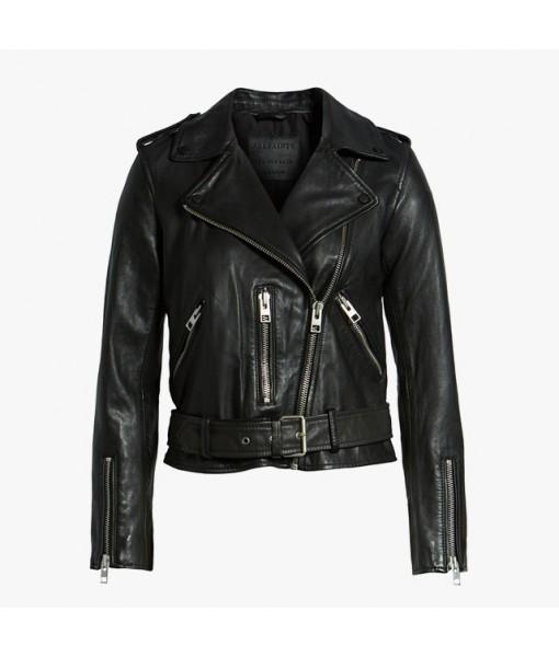 AllSaints Balfern leather...