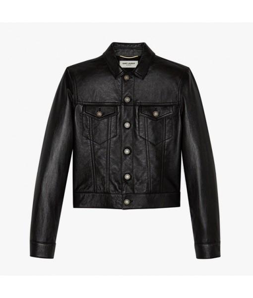 Saint Laurent lambskin jacket